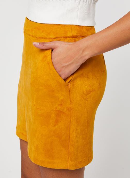 Vêtements Vero Moda Vmdonnadina Faux Suede Short Skirt Marron vue face