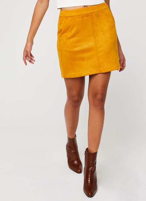 Jupe mini - Vmdonnadina Faux Suede Short Skirt