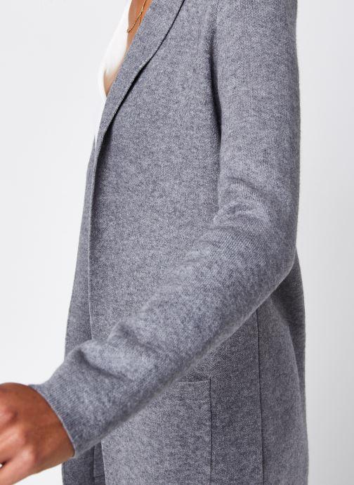 Vêtements Vero Moda Vmtasty Fullneedle New Coatigan Gris vue face