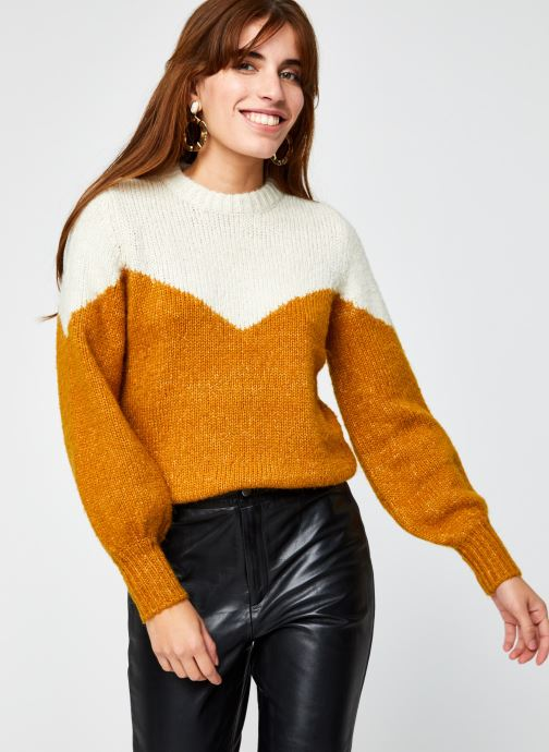 Pull - Vmwinnie O-Neck Block Blouse