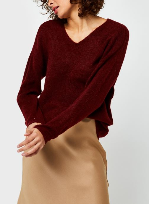 Pull - Vmcrewlefile V-Neck Blouse