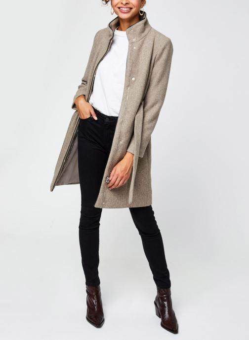 Vêtements Vero Moda Vmclassbessy Wool Jacket Beige vue bas / vue portée sac