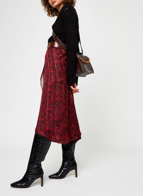 Vêtements Vero Moda Vmpaca Pointelle O-Neck Blouse Noir vue bas / vue portée sac