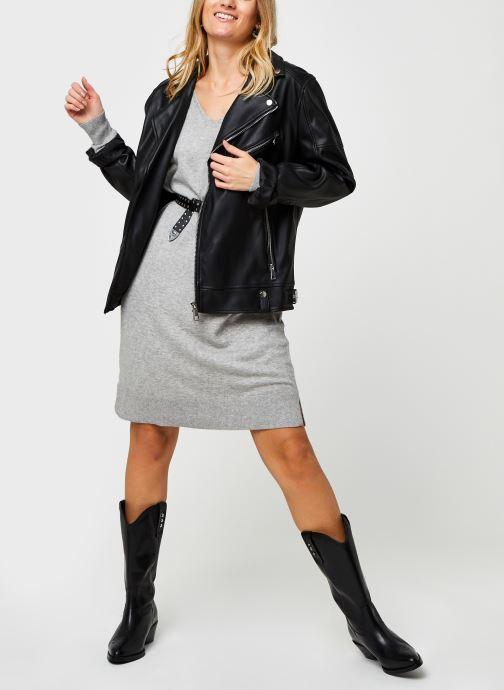 Vêtements Vero Moda Vmholly V-Neck Loose Dress Gris vue bas / vue portée sac