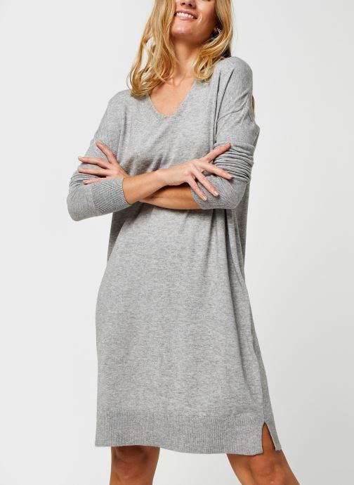Vêtements Vero Moda Vmholly V-Neck Loose Dress Gris vue détail/paire