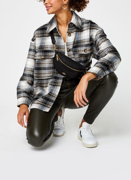 Vêtements Vero Moda Vmally Check Jacket Noir vue bas / vue portée sac