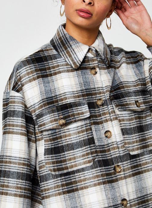 Vêtements Vero Moda Vmally Check Jacket Noir vue face