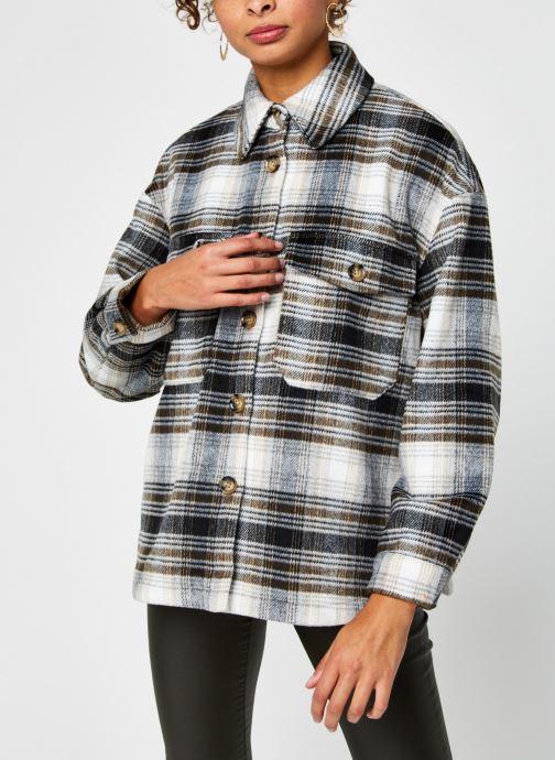 Vêtements Vero Moda Vmally Check Jacket Noir vue droite