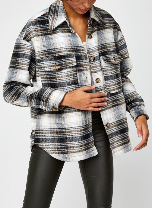 Vêtements Vero Moda Vmally Check Jacket Noir vue détail/paire