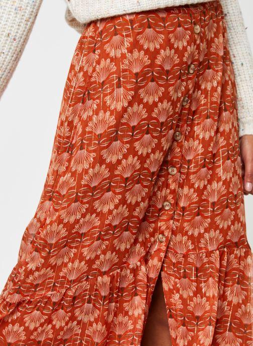 Vêtements Vero Moda Vmbianca Ankle Skirt Orange vue face