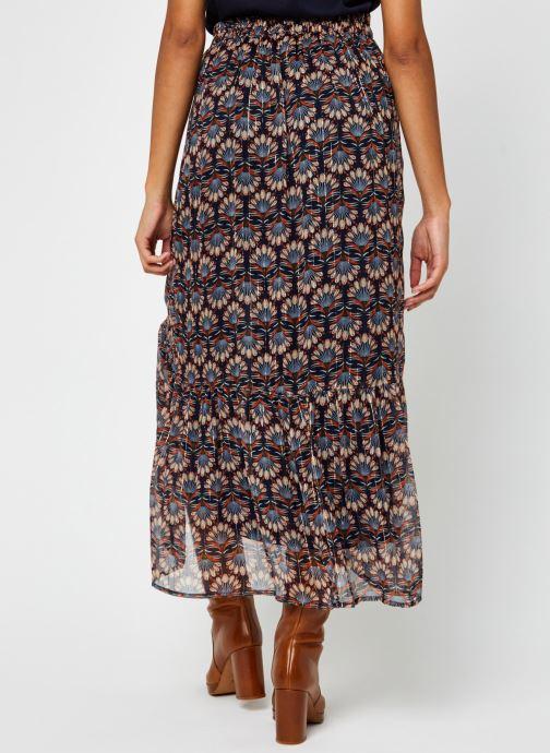 Vêtements Vero Moda Vmbianca Ankle Skirt Bleu vue portées chaussures