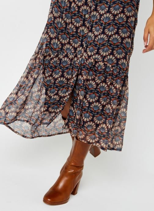 Vêtements Vero Moda Vmbianca Ankle Skirt Bleu vue face