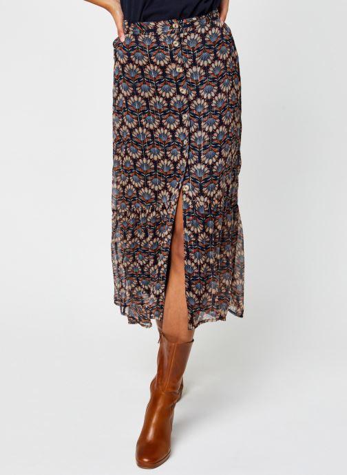 Vêtements Vero Moda Vmbianca Ankle Skirt Bleu vue détail/paire