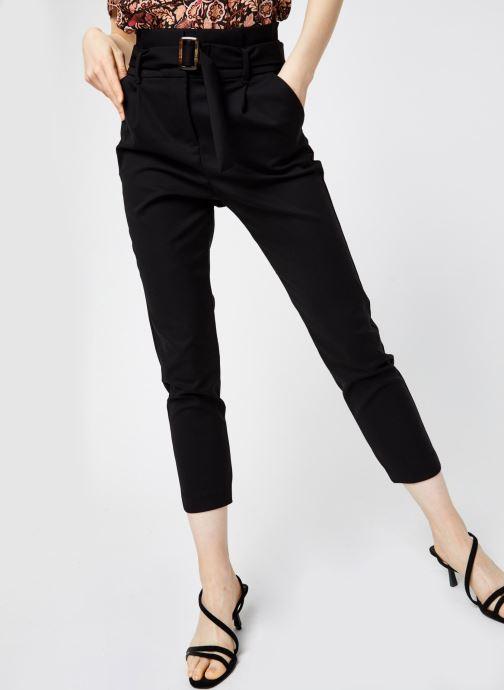 Vêtements Vero Moda Vmbrienna Buckle Belt Pant Noir vue détail/paire