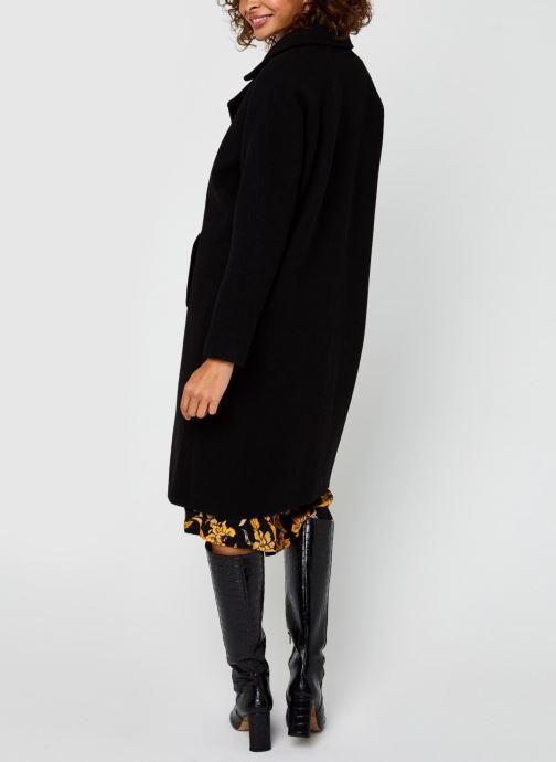 Vêtements Vero Moda Vmclassgold Long Jacket Noir vue portées chaussures