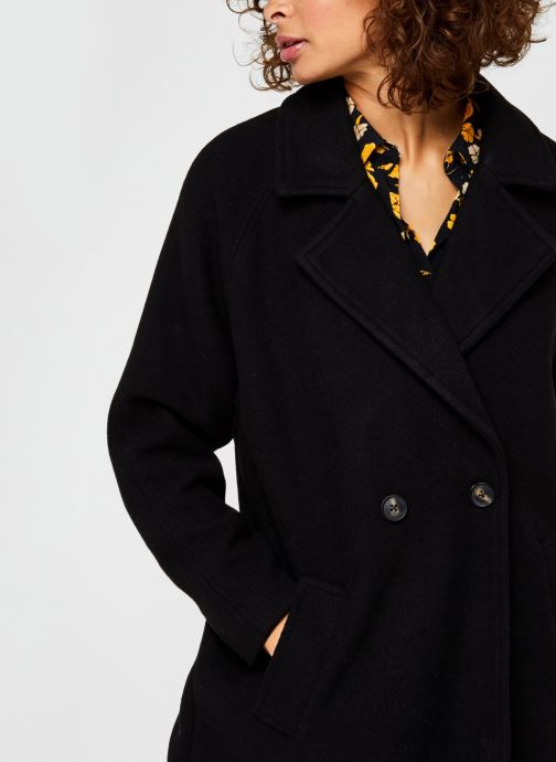 Vêtements Vero Moda Vmclassgold Long Jacket Noir vue face