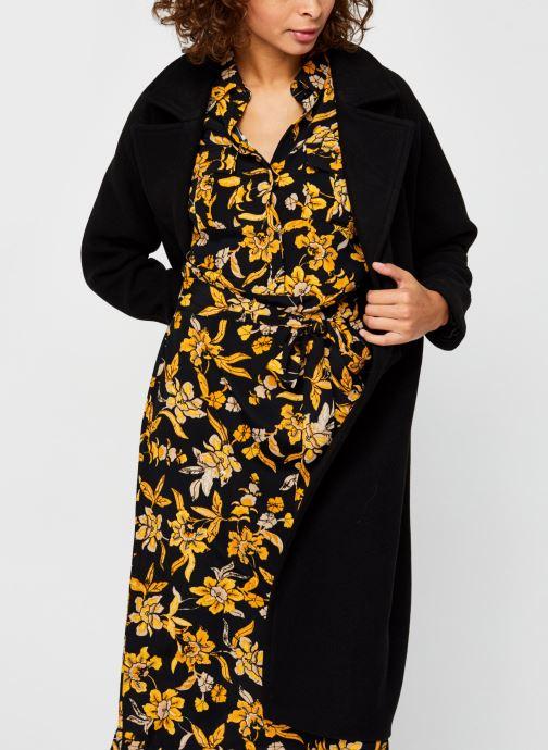 Vêtements Vero Moda Vmclassgold Long Jacket Noir vue détail/paire