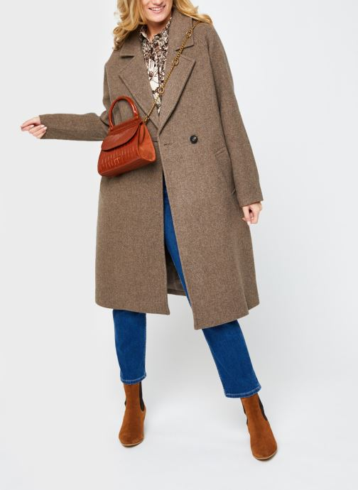 Vêtements Vero Moda Vmclassgold Long Jacket Marron vue bas / vue portée sac