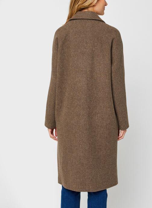 Vêtements Vero Moda Vmclassgold Long Jacket Marron vue portées chaussures
