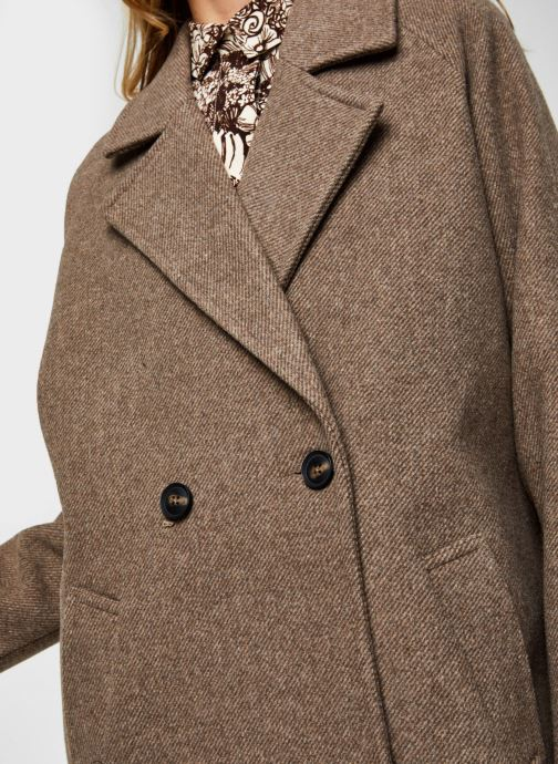 Vêtements Vero Moda Vmclassgold Long Jacket Marron vue face