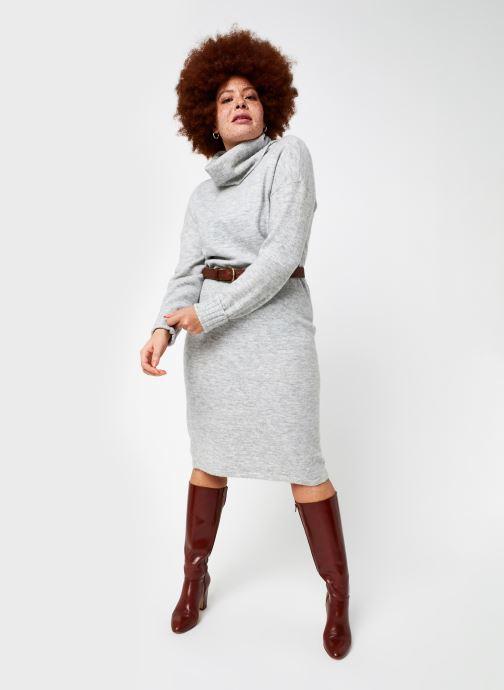 Vêtements Vero Moda Vmgaiva Cowl Neck Dress Gris vue bas / vue portée sac