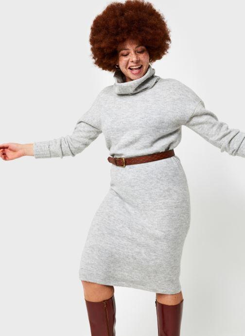 Vêtements Vero Moda Vmgaiva Cowl Neck Dress Gris vue détail/paire