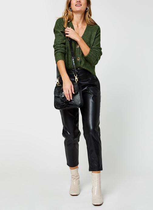 Vêtements Vero Moda Vmgaiva V-Neck Cardigan Noir vue bas / vue portée sac