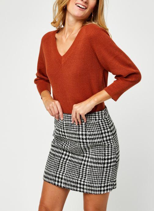 Vêtements Vero Moda Vmgalex V-Neck Blouse Orange vue détail/paire