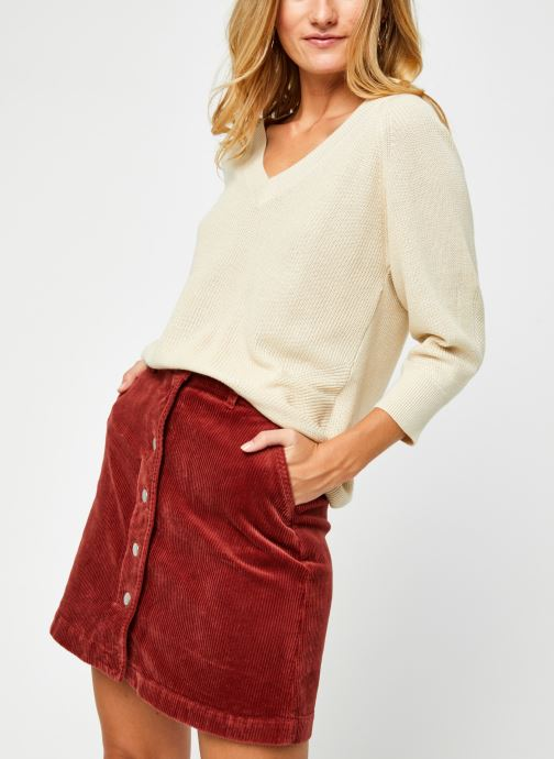 Vêtements Vero Moda Vmgalex V-Neck Blouse Beige vue détail/paire