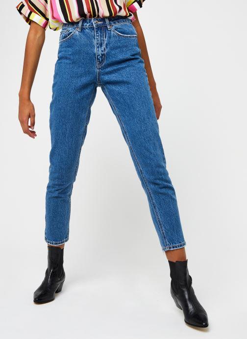 Vêtements Vero Moda Vmjoana Mom Ankle Bleu vue détail/paire