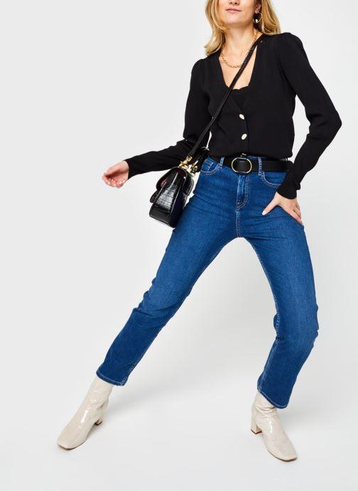 Vêtements Vero Moda Vmmodo Ls V-Neck Cardigan Noir vue bas / vue portée sac