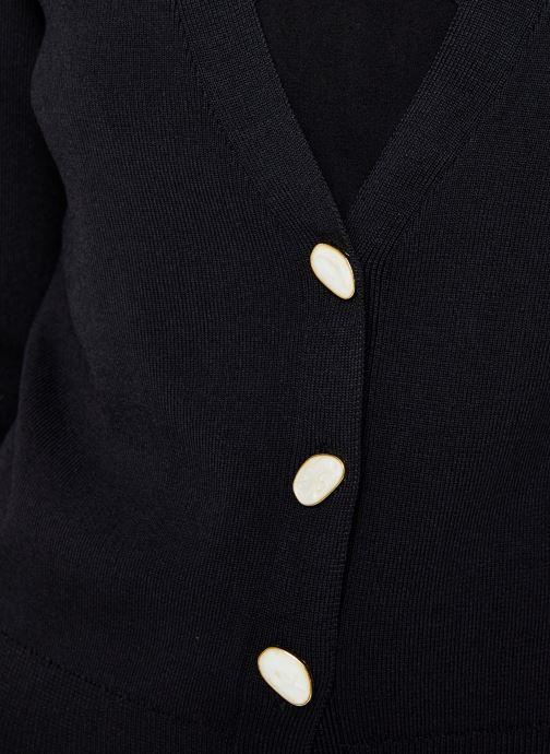 Vêtements Vero Moda Vmmodo Ls V-Neck Cardigan Noir vue face