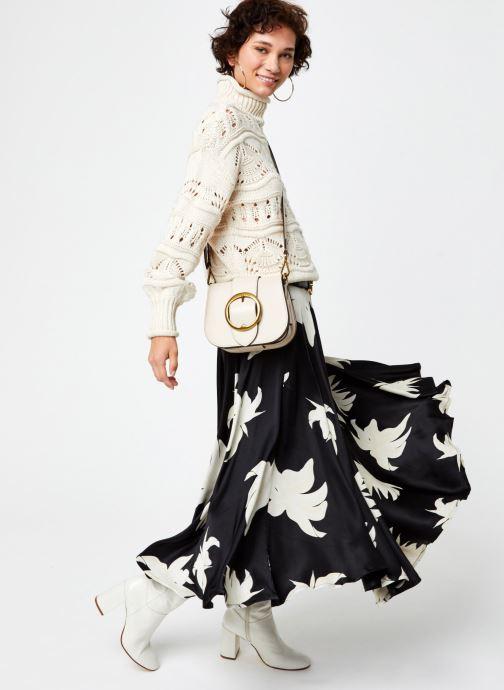 Vêtements Vero Moda Vmpoll Highneck Blouse Beige vue bas / vue portée sac