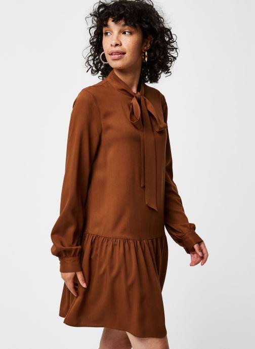 Vêtements Vero Moda Vmmarian Ls Tunic Vma Marron vue détail/paire
