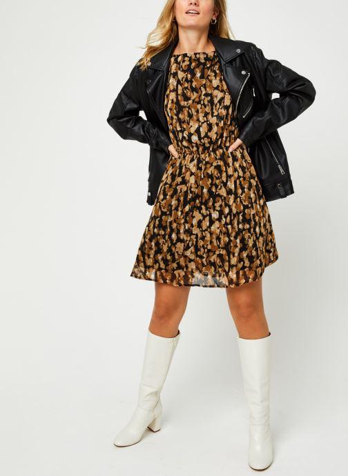 Vêtements Vero Moda Vmmally Ls Boatneck Short Dress Vma Noir vue bas / vue portée sac
