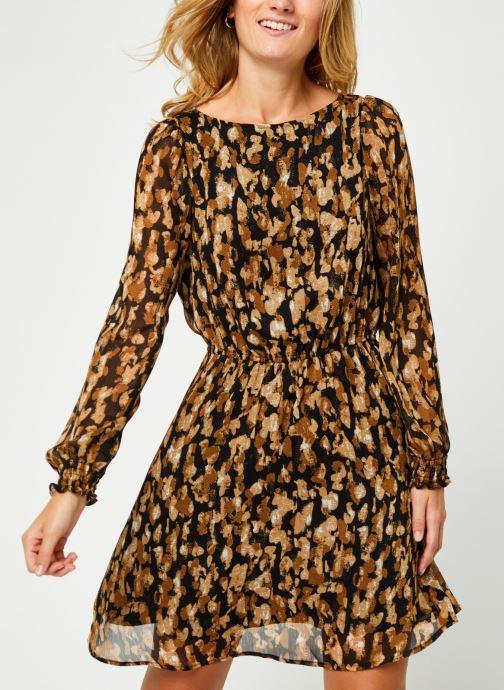 Vêtements Vero Moda Vmmally Ls Boatneck Short Dress Vma Noir vue droite