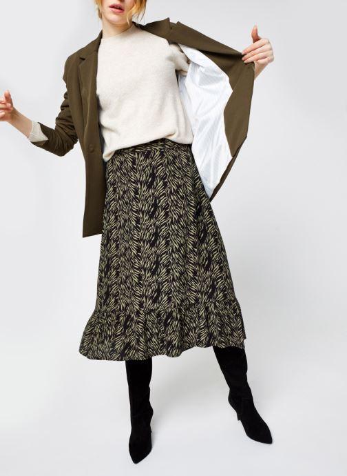 Vêtements Vero Moda Vmmaja Ls O-Neck Knit Vma Beige vue bas / vue portée sac