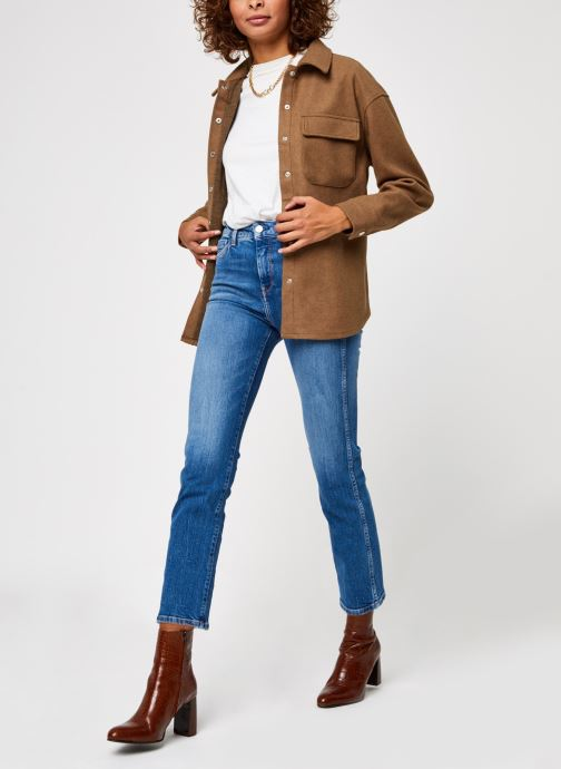 Kleding Vero Moda Vmocean Ls Shirt Vma Bruin onder