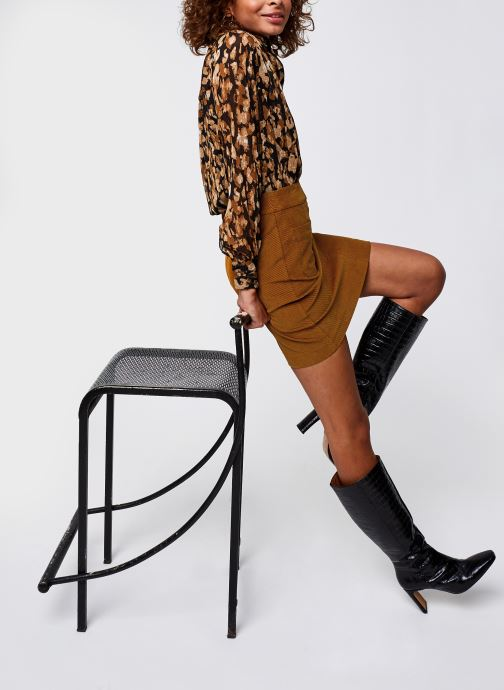 Vêtements Vero Moda Vmlinda Ls Shirt Vma Noir vue bas / vue portée sac