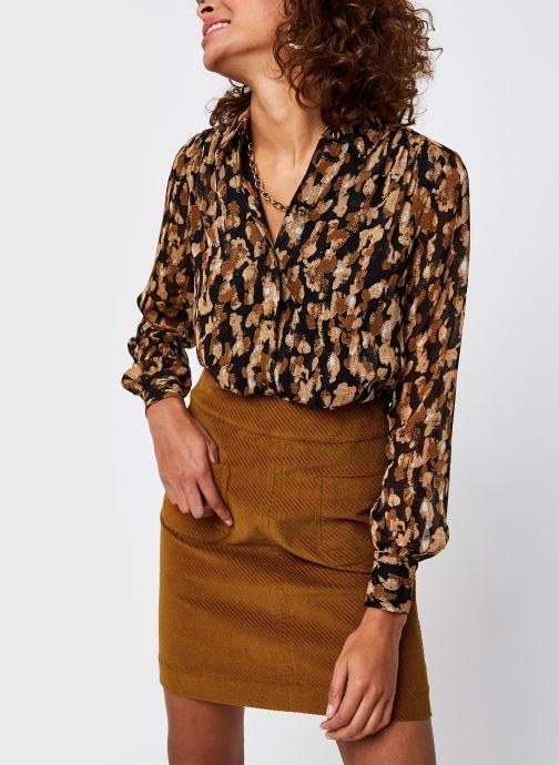 Vêtements Vero Moda Vmlinda Ls Shirt Vma Noir vue détail/paire