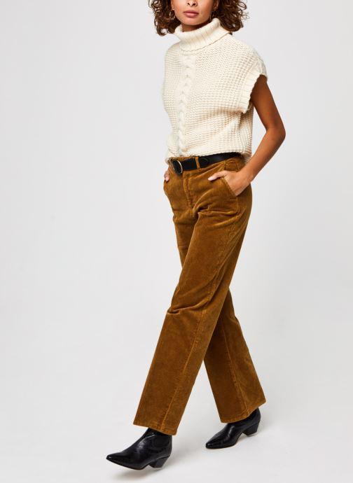 Vêtements Vero Moda Vmmagic Roll Neck Vest Vma Beige vue bas / vue portée sac