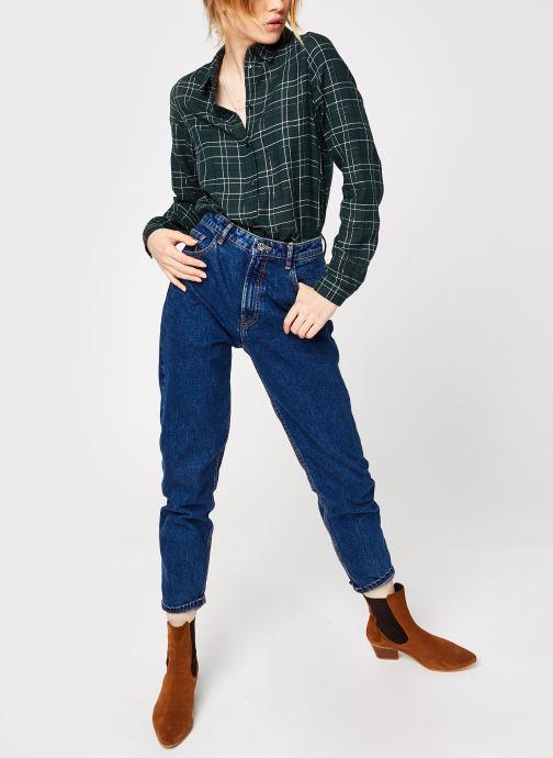Vêtements Vero Moda Vmflo Ls Shirt Wvn Vert vue bas / vue portée sac
