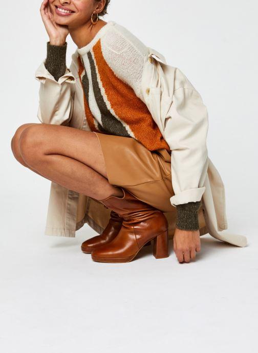 Vêtements Vero Moda Vmbutterally Hw Short Coated Skirt Marron vue bas / vue portée sac