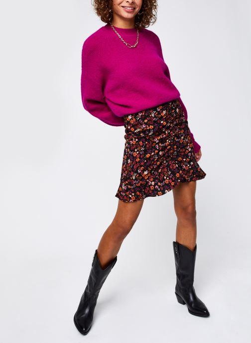 Vêtements Vero Moda Vmstella Ls O-Neck Blouse Ki Rose vue bas / vue portée sac