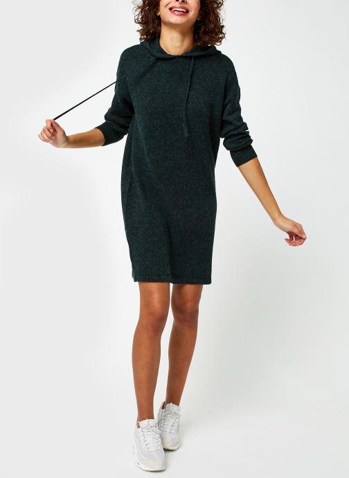 Vêtements Vero Moda Vmdoffy Ls Hood Dress Ga Boo Vert vue bas / vue portée sac