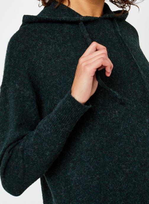 Vêtements Vero Moda Vmdoffy Ls Hood Dress Ga Boo Vert vue face