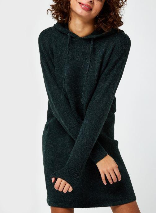 Vêtements Vero Moda Vmdoffy Ls Hood Dress Ga Boo Vert vue droite
