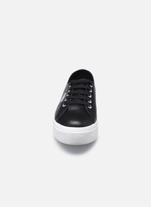 Baskets Superga 2730 Naplng Cotu W C AH2020 Noir vue portées chaussures