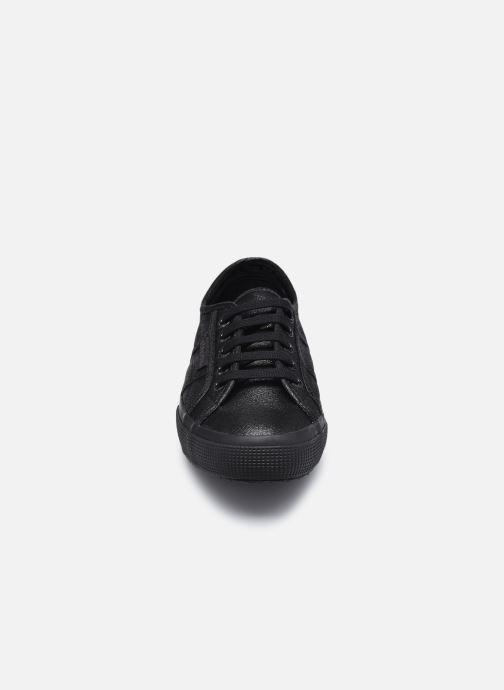 Baskets Superga 2750 Lame W C AH2020 Noir vue portées chaussures