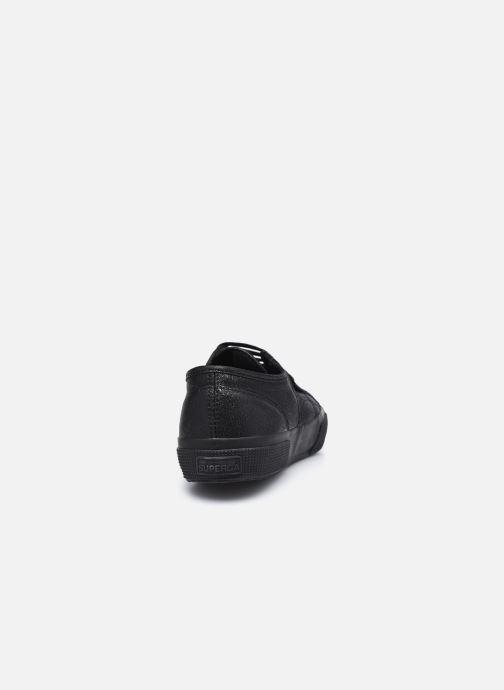 Baskets Superga 2750 Lame W C AH2020 Noir vue droite